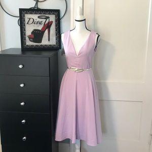 LuLu's Sweetheart Lavender Dress Sz M